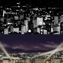 Manga vs anime - Cityscape