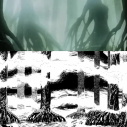 Manga vs anime - The forest near the mastermind's mansion